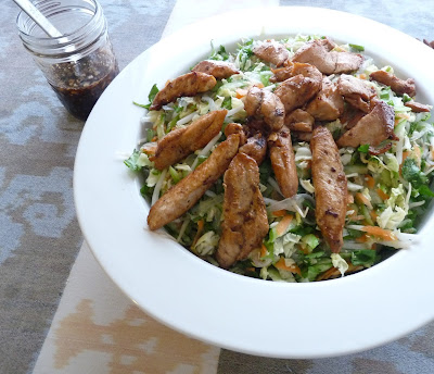 Spring Roll Salad with Chicken