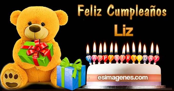 Feliz Cumpleaños Liz