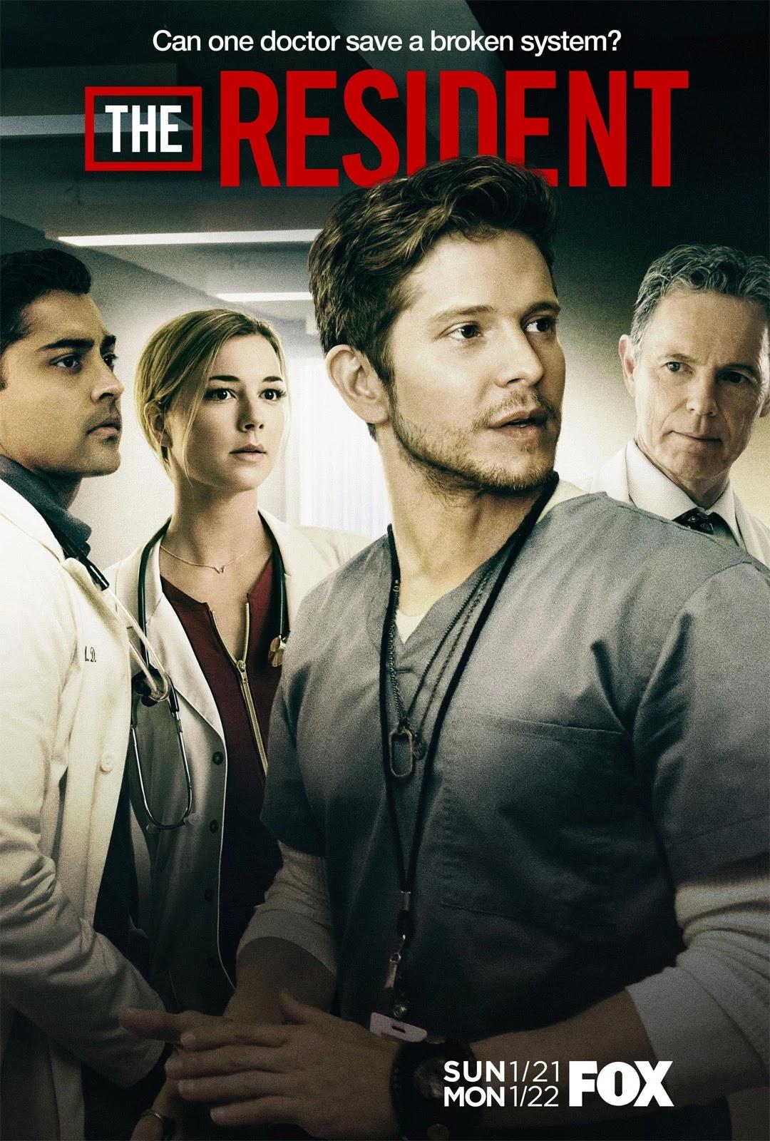 The Resident Temporada 1 a la 4 Dual 720-1080p