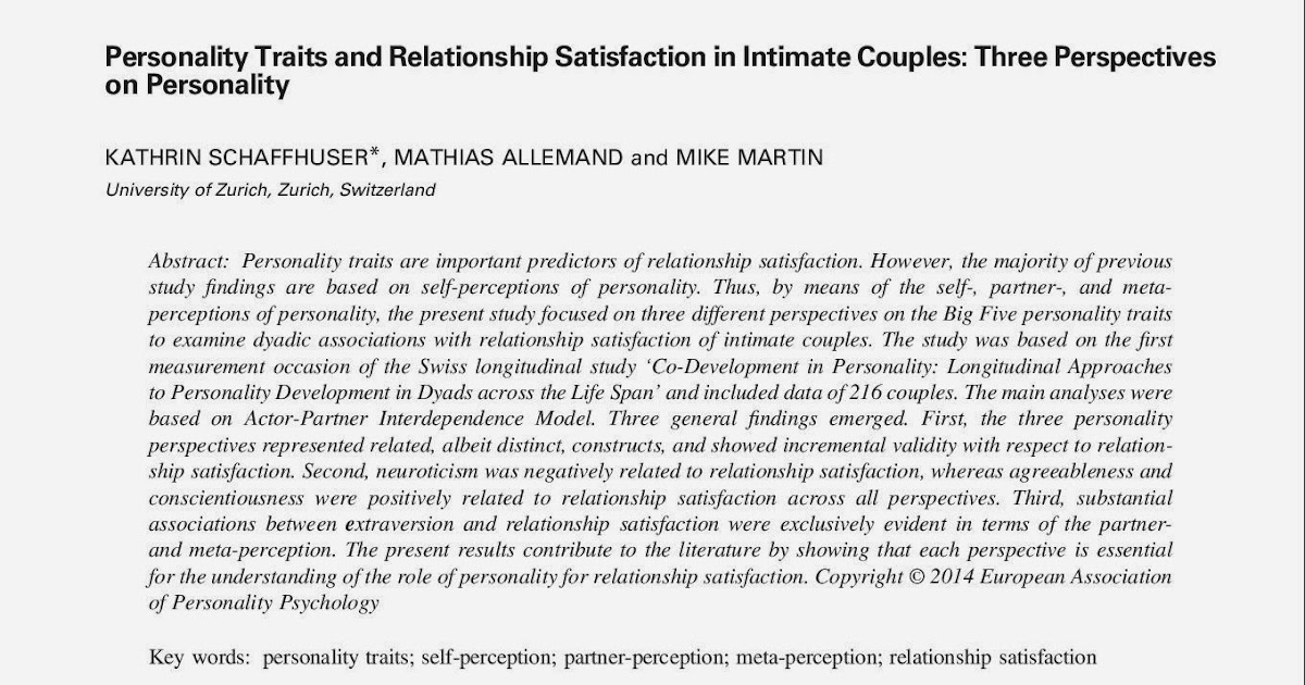 relationship between conscientiousness and neuroticism