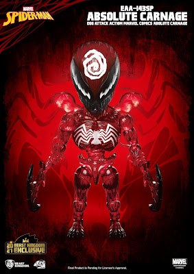 San Diego Comic-Con 2021 Exclusive Marvel Comics Absolute Carnage Egg Attack Action Figure by Beast Kingdom
