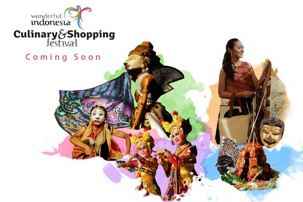 WONDERFUL INDONESIA CULINARY AND SHOPPING FESTIVAL 2017 SIAP DIGELAR SATU BULAN PENUH