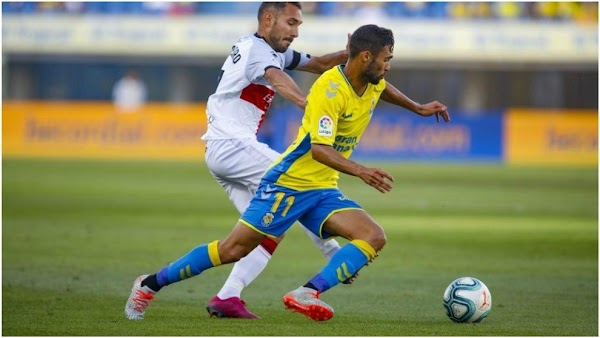 """Benito - Las Palmas - avisa: """"El Málaga es un equipo muy fuerte y rápido"""""""
