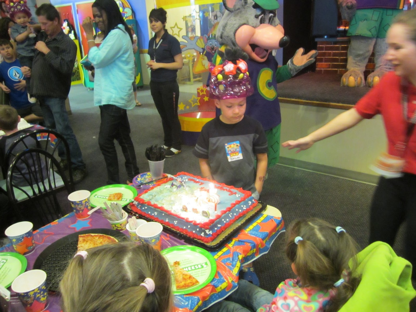 Sirifam Chuck E Cheese Birthday Party