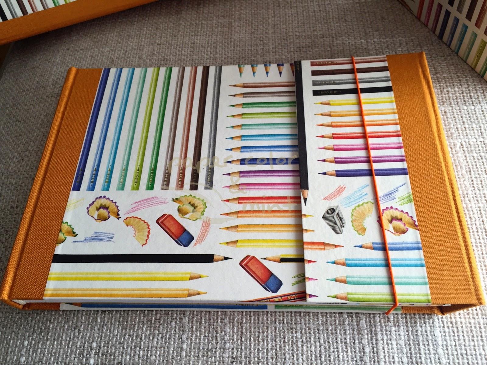 Cartonnage cartonaje Juego de escritorio Cuaderno Tassotti