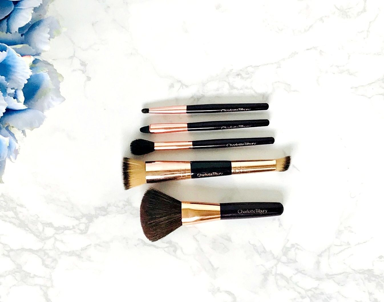 Charlotte Tilbury mini makeup brushes review