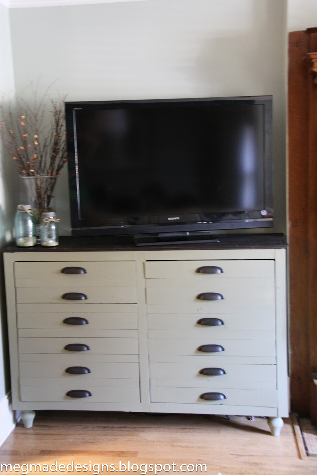 Well-known Ikea meets Vintage Printer's Cabinetwhat what! - **MegMade** UE95