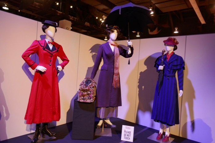 Mary Poppins movie stage costumes