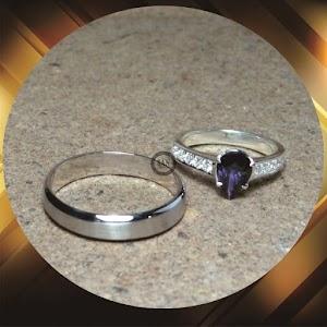 cincin paladium perak p826
