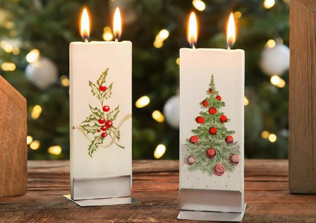 level holiday candlelight gift