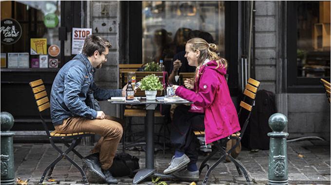 Belgique : Les terrasses des bars et restaurants rouvriront le 8 mai