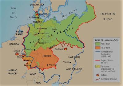 El siglo XIX. Unificación de Alemania