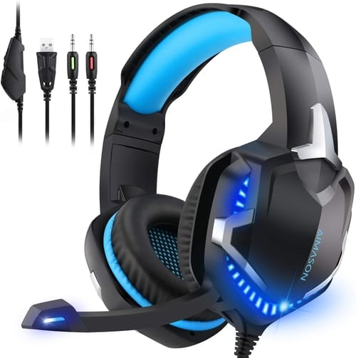 Review AIMASON PS4 Xbox One Gaming Headset with Mic