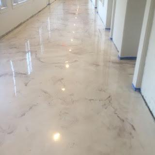 Lantai Estetik Warna Putih