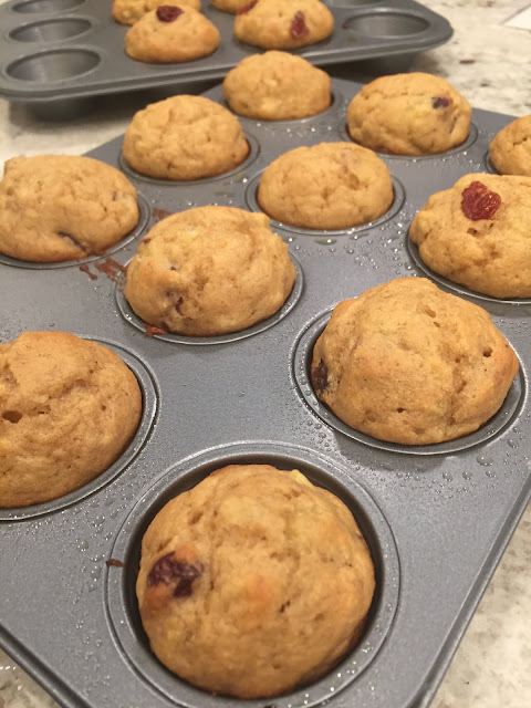 Livliga Cranberry-Banana Muffin