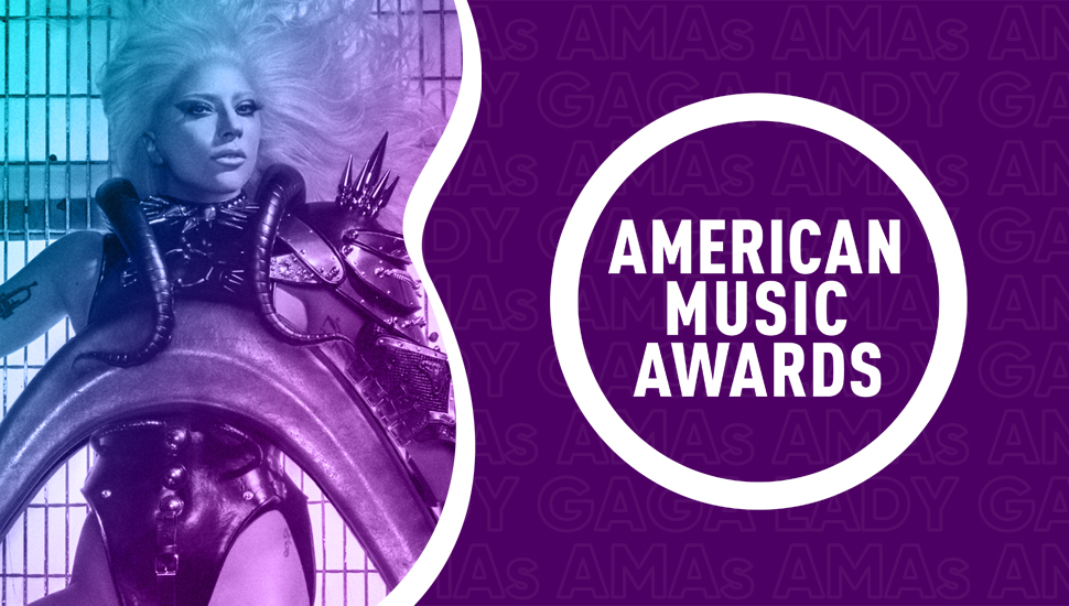 Lady Gaga gana un premio en los American Music Awards 2020