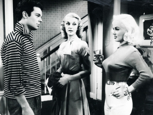 Gratuitous shot of Mamie Van Doren from 'High School Confidential'