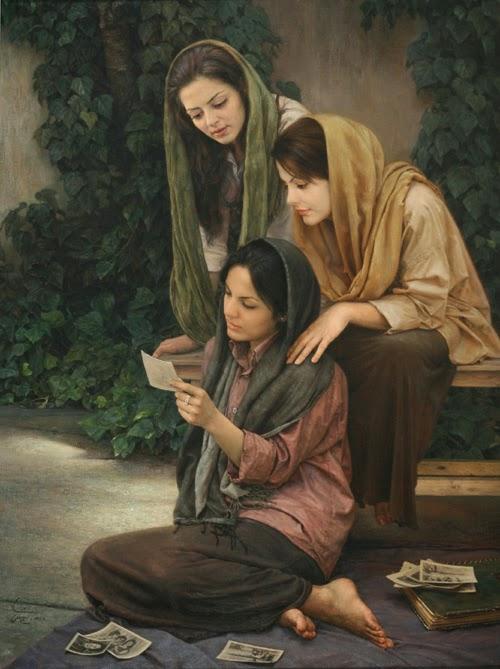 O Velho Álbum - Iman Maleki e suas pinturas realistas ~ Pintor iraniano