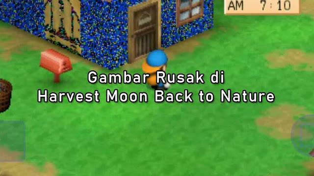 Cara Mengatasi Gambar Rusak di Harvest Moon Back To Nature