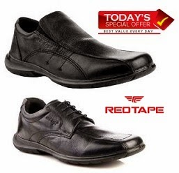 Red Tape Men's Formal Shoes worth Rs.2395 for Rs.999 Only @ HomeShop18 (Special Price – For Today Only)