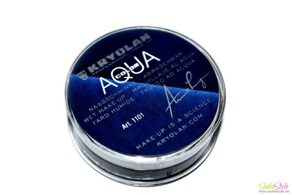 Kryolan Aqua Color Cake Eyeliner