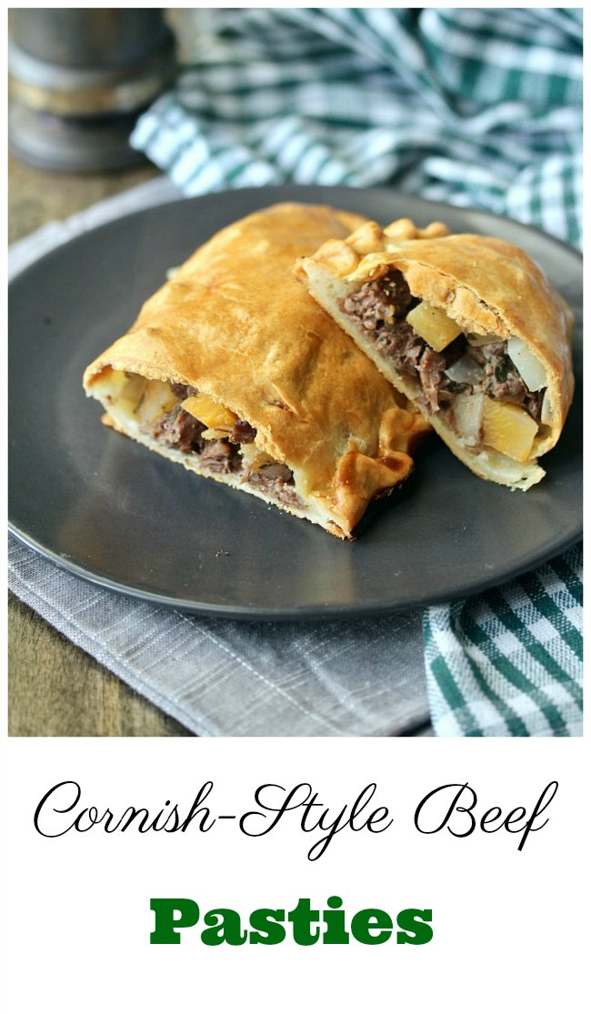 Cornish-Style Beef Pasty hand pies