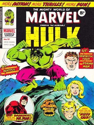 Mighty World of marvel #181, The Hulk