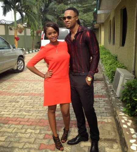 BBA winner Dillish and Nigerian musician Flavour dating
