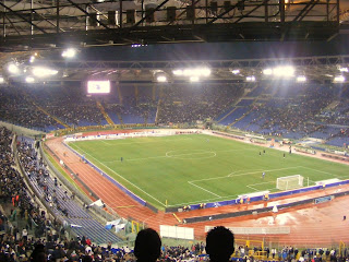 The Stadio Olimpico in Rome is home to both Lazio and Roma and hosts many important football matches
