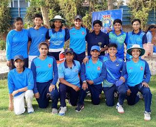 रविंद्र फागना क्रिकेट अकादमी ने एंज़ल क्रिकेट अकादमी को 7 विकेट से हराया