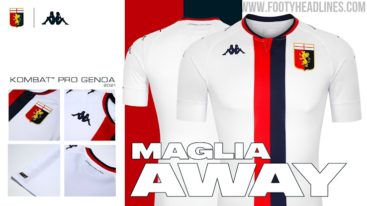 Genoa 20-21 Away Kit Released - Footy Headlines