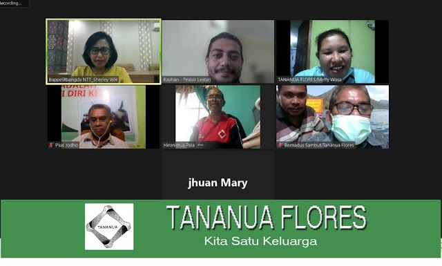 Untuk Membangun Kemitranaan Yang Baik, Tananua Flores Audiens bersama BAPPELITBANGDA Propinsi NTT