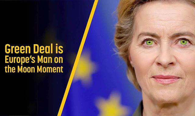 Ursula von der Leyen: impor uma Europa verde explorando a crise do coronavírus