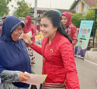 Peringati Hari Ibu, Srikandi PDI Perjuangan Kota Mojokerto Ajak Perangi Stunting dan Narkoba