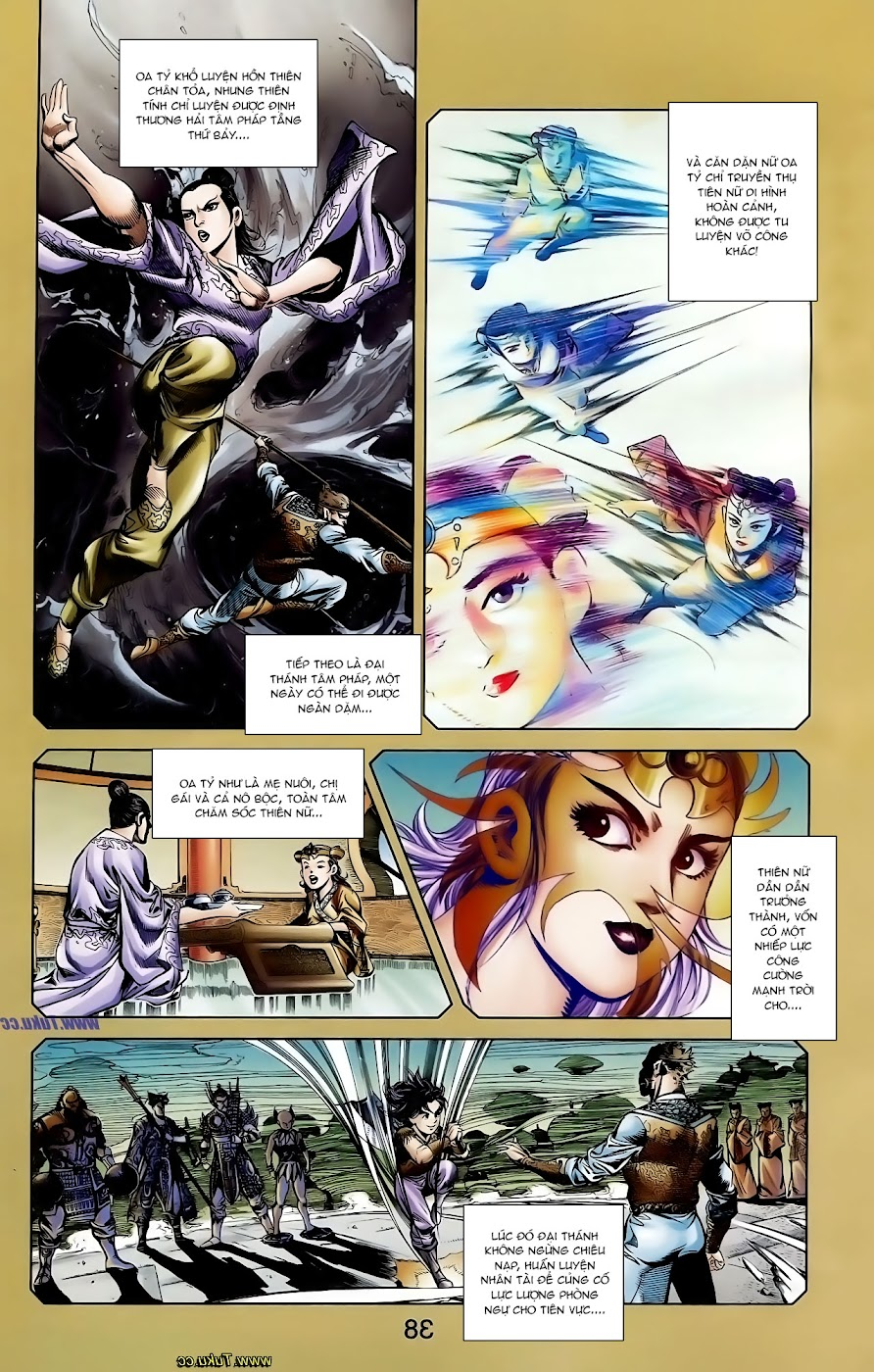 Cơ Phát Khai Chu Bản chapter 106 trang 5