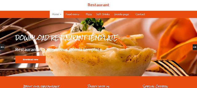 Restaurant - Joomla Responsive