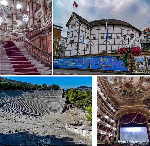 Teatros pelo mundo