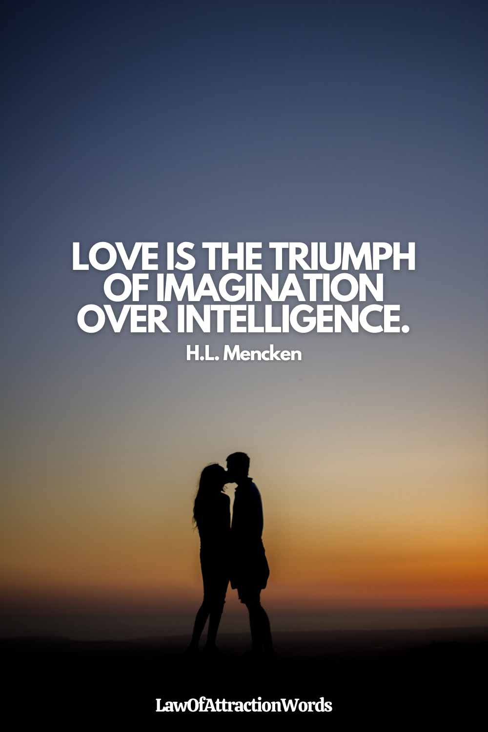 Short Law Of Attraction Quotes Love