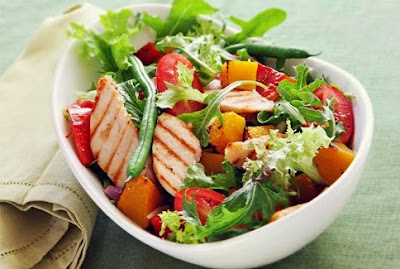 resep salad ayam dan buah