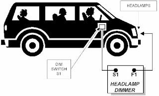 Headlamp-Dimmer-Circuit-Diagram