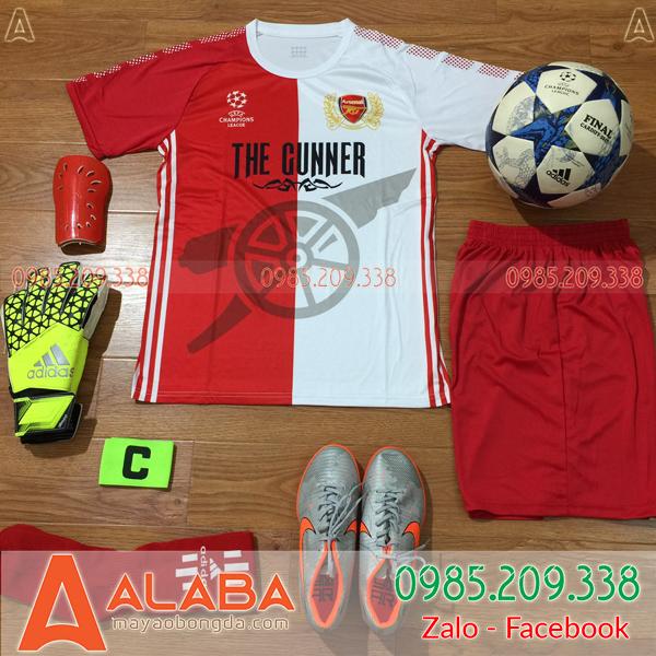 Áo CLB Arsenal 2019 Training Màu Đỏ