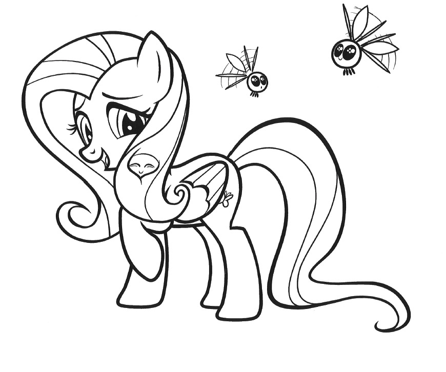 y little pony coloring pages - photo #46