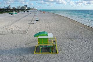 coronavirus -  beaches closed