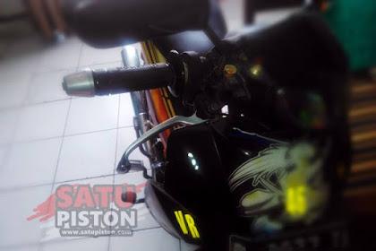 Letak Nomor Rangka dan Nomor Mesin Honda Supra Fit 100 CC