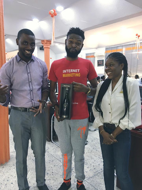 Popular Nigerian Importer Onyedikachi Kingsley Has Been Officially Honored By Jumia Nigeria Vendors