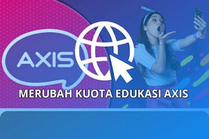 Berikut Config Kuota Edukasi Axis Terbaru April 2021, 100% Konek