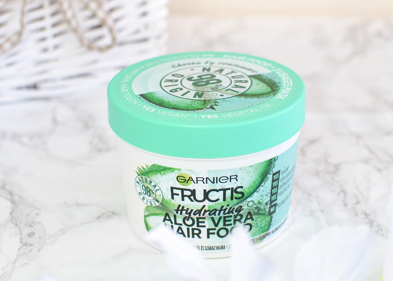 Garnier Fructis Hydrating Aloe Vera Hair Food Mask, Shampoo and Contioner