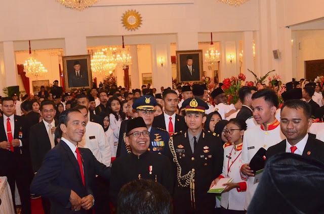Saudara Sebangsa, Presiden Jokowi Minta Yang Dari Aceh Kenal Yang di Papua