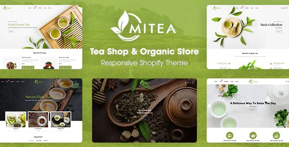 Best Tea Shop & Organic Store Responsive Shopify Theme