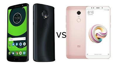 Moto G6 vs Xiaomi Redmi 5